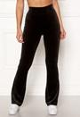 Kaylee velour flared leggings