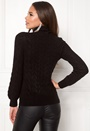 Kira cable knitted sweater