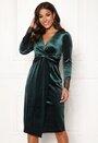 Leonora velour dress