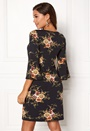 Happy Holly Milla dress Black / Patterned