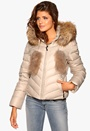 Hollies Aspen Short Jacket Beige