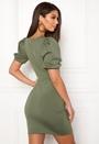 Short Puff Sleeve Dress