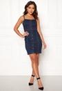 Sanna Denim Strap Dress