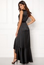 Wrap Frill Maxi Dress