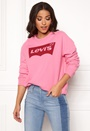 Relaxed Graphic Crewneck Sweater