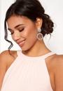 Crystal Ring Drop Earring
