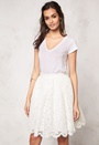 Make Way Elenorah  Skirt White