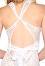 Make Way Evangelie Dress White/Nude
