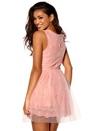 Model Behaviour Amelia Dress Pink