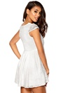 Model Behaviour Freja Dress White
