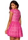 Model Behaviour Freja Dress Hot Pink