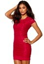 Model Behaviour Lidia Dress Raspberry Red
