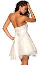 Model Behaviour Cecilia Dress White