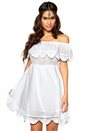 Make Way Cadine Dress White