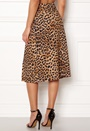 Animal Asym Button Skirt