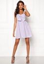 Seersucker Twist Front Dress