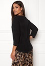 Morgan Rib 3/4 Pullover