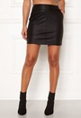 Base Faux Leather Skirt