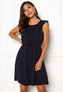 Caroline S/L Frill Dress