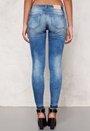 ONLY Carrie low ankel jeans Medium Blue Denim