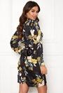 Faye L/S Belt Dress