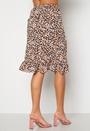 Fuchsia Wrap Skirt