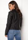 Gemma Faux Leather Biker