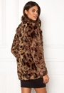 Juliane Faux Fur Leo Coat