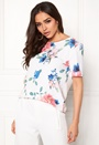 Kenni Flower S/S Top