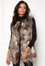 Laila Fur Waistcoat