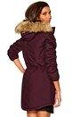 ONLY London Cotton Coat OTW BB Tawny Port