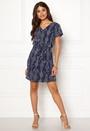 Nova Lux Deep V S/S Dress