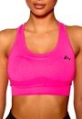 ONLY PLAY Maia Seamless Sports Top Pink Glo Bubbleroom.se