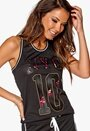 ONLY PLAY Melina Tank Top Black Bubbleroom.se
