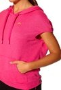 ONLY PLAY Zuri Sweat Cape Pink Glo
