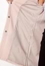 Sia Frill Light Melange Coat