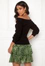 Za L/S Wide Neck Pullover