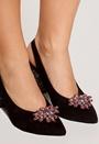 Christal Shoe Clips
