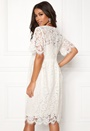 Gaia 2/4 Midi Lace Dress