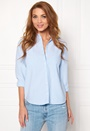 Pieces Katia Shirt Faded Blue Bubbleroom.no