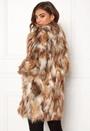 Animal Faux Fur Coat