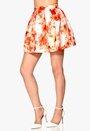 RX Hypnotized Skirt Orange/Patterned