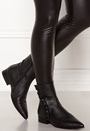 Alexia Leather Frill Boot