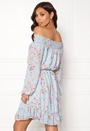 Sisters Point NETTO-1 Dress Sky blue flower