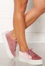 Velvet Chenille Sneakers