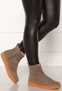 Anna High Suede Shoes