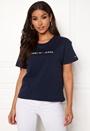 Clean Linear Logo Tee