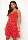 Fluid Printed Strap Dress