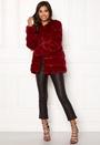 Plush Panelled Faux Fur