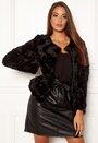 Curl Short Fur Jacket